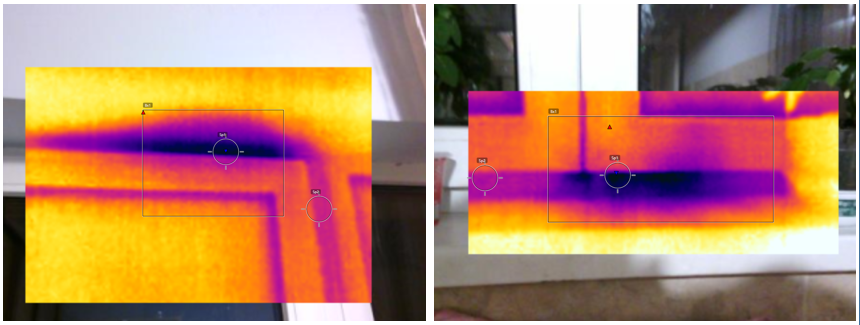 infrarosu infiltratii tamplarie