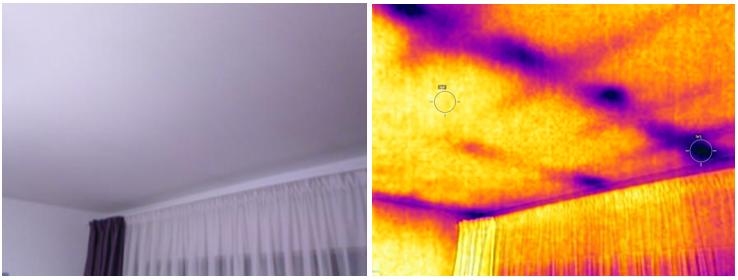 pierderi caldura tavan